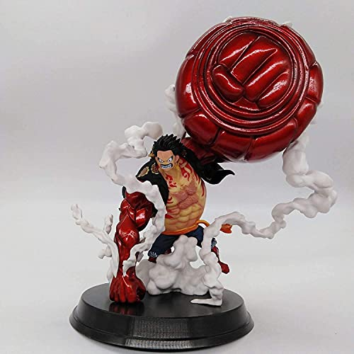 One Piece - Figura de Monkey D.Luffy Gear 4 Kong Gun - Figura decorativa, diseño de Wano Kuni
