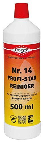 Geiger Chemie Nr. 14 Profi-Star Reiniger 500ml Flasche