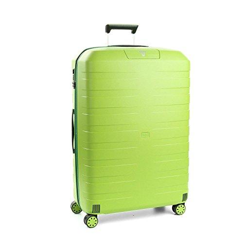 Roncato Box 2.0 Maleta Mediana Verde Lima, Medida: 69 x 46 x 26 cm, Capacidad: 80 l, Pesas: 3.20 kg