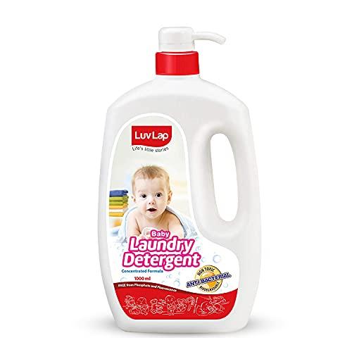 LuvLap Baby Laundry Liquid Detergent, Food Grade,1000ml