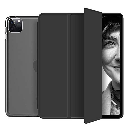 YYLKKB For iPad Pro 12.9 2020 Case Pro 11 2nd Case for iPad 10.2 Case 2019 Mini 5 Capa Air 3 10.5 9.7 6th 7th 8th Generation Funda Case-Black_Pro 11 2nd 2020