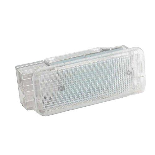 GOFORJUMP 2 Pcs 18SMD LED lumières de la Voiture de la Voiture de Compartiment de la lumière d'éclairage pour P/eugeot 1007 206 207 306 307 3008 406 407 5008