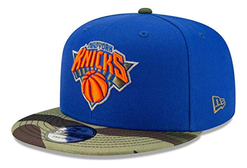New Era - Gorra NBA New York Knicks All Star Game Camo 9Fifty Snapback - Azul azul Talla única