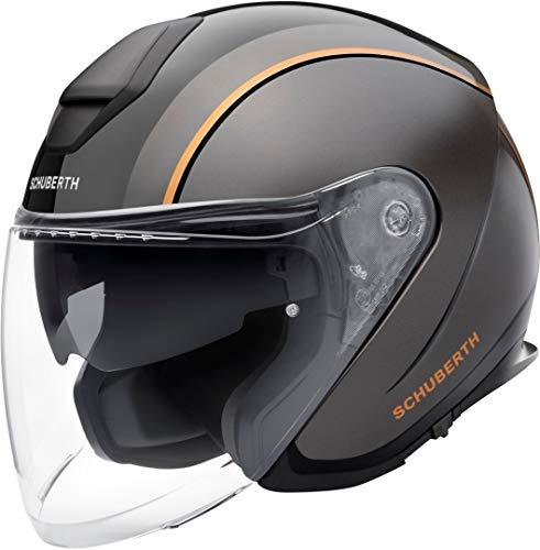 SCHUBERTH M1 PRO OUTLINE BLACK JET HELMET L