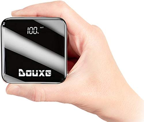 Douxe LCD Pocketsize Powerbank 10.000 mAh - Extra small Powerbank