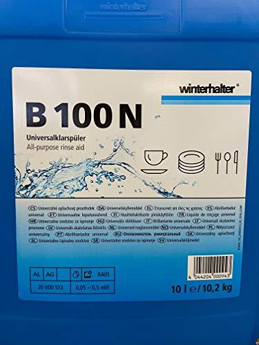 Winterhalter Klarspüler B100 N 10 Liter Kanister für gewerbliche Spülmaschinen