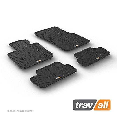 Travall Mats Tapis de Voiture Compatible avec Mini 3 Portes (2013 et Ulterieur) TRM1250 - Tapis de Sol en Caoutchouc sur Measure
