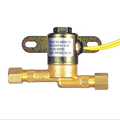 4040 Solenoid Valve for Aprilaire,24 Volt for Humidifier Models 400, 500, 600, 700 by Cykemo