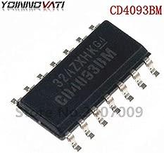 Gimax 10PCS HEF4093BT SOP14 HEF4093 HCF4093 CD4093BM Logic gate Quad NAND Schmitt 2-input trigger New Original
