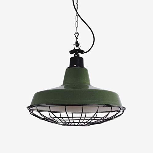 Raelf Estilo industrial loft americano forjado hierro de hierro araña colgante con forma de luz de metal con rejillas arañas en estilo industrial vintage 1-luz lámpara colgante lámpara techo accesorio