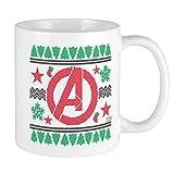 N\A Avengers 11 Oz Tazza in Ceramica Divertente novità Tazza da caffè Regali di Natale La Migliore Idea di Natale Vacanze di Capodanno per Amici di Famiglia Colleghi Uomini Donne