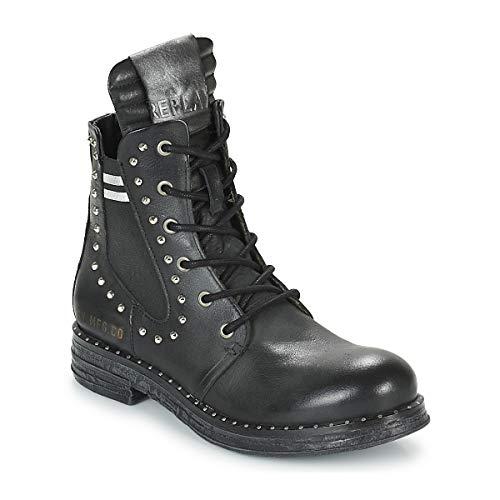 Replay Skin Stiefelletten/Boots Damen Schwarz - 38 - Boots Shoes