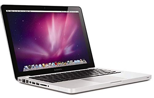 Apple Macbook Pro A1278 Silver 13 inches Late 2011 Laptop Core i7-2620M, 2.70GHz, 8GB, 256GB SSD with Sierra OSX & 12 Months Warranty (Renewed)