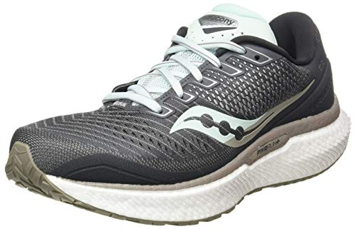 Saucony Women's Jogging Trail Running Shoe, Charcoal Sky, 7.5 UK