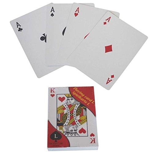 XXL 54 Französisches Blatt Doppelkopf Spielkarten Kartenspiel Poker Karten Skat
