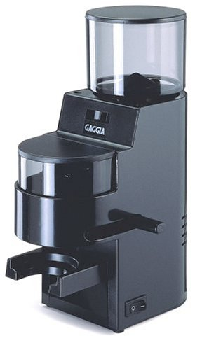 Gaggia MDF Burr Grinder with Doser, Black