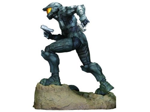 Halo 3 Exclusive 12 Inch Deluxe Steel Spartan ARTFX Vinyl Statue