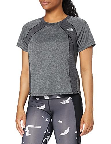 The North Face Ambition T-Shirt Femme, Noir (TNF Black Heather), XS