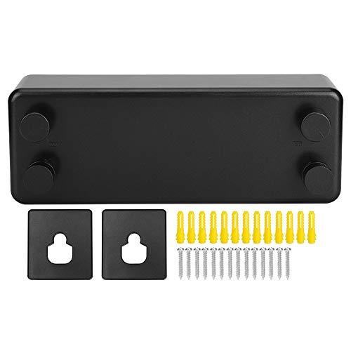 AYNEFY Tendedero retráctil, Suficiente Espacio para la Secadora Fácil de Usar Tendedero montado en la Pared para Interiores o Exteriores(Black, 12)
