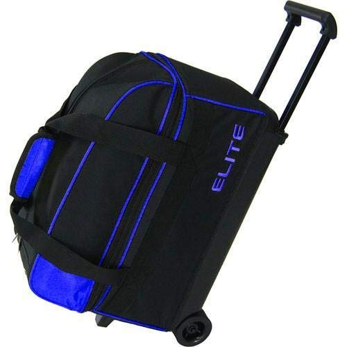 Elite 2 Ball Rolling Bowling Bag - Blue
