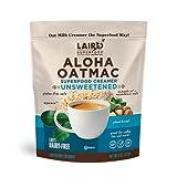 Laird Superfood Unsweetened Aloha OatMac Non-Dairy Coffee Creamer - Macadamia and Oat Milk Powdered Creamer, Vegan and Gluten-Free, 8oz Bag