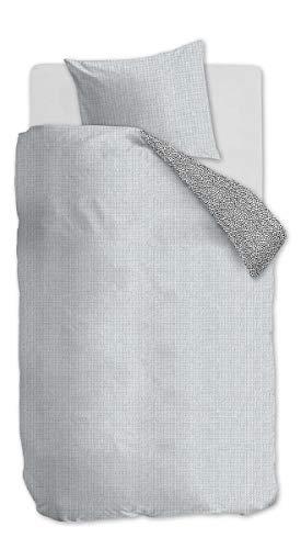 Beddinghouse Kids 176521 Kate Kids Parure de lit en Coton renforcé avec 1 taie d'oreiller 80 x 80 cm Bleu