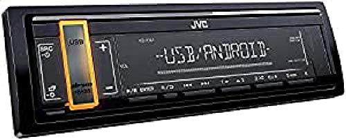 JVC KD-X161 Autoradio Digitale, Nero
