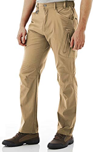 MAGCOMSEN Tactical Pants Men Big and Tall Cargo Pants Men Khaki Pants Work Pants Hiking Pants Men Military Pants High Waisted Pants Quick Dry Golf Pants Classic Pants