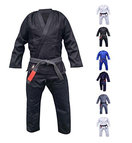Your Jiu Jitsu Gear Brazilian Jiu Jitsu Premium 450 Black BJJ Uniform A3