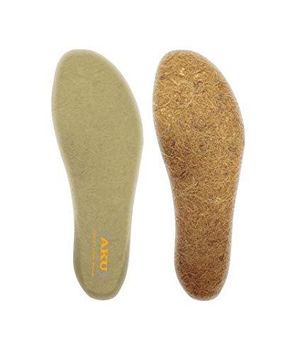 AKU Cocco Lattice Bamboo - Plantilla de bambú, color marrón, accesorio para zapatos, talla EU 39,5, color beige