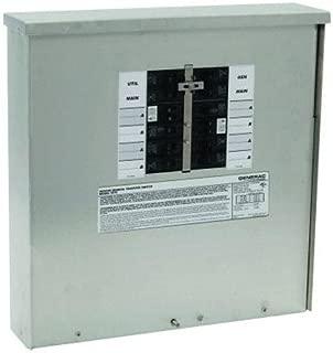 Generac 6379 30-Amp 10-16 Circuit Manual Transfer Switch for 7,500 Watt Portable Generators