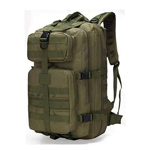 N-B Mochila táctica militar resistente al agua Molle Pack de 35 l mochila mochila ejército mochila bolsa para senderismo al aire libre camping caza