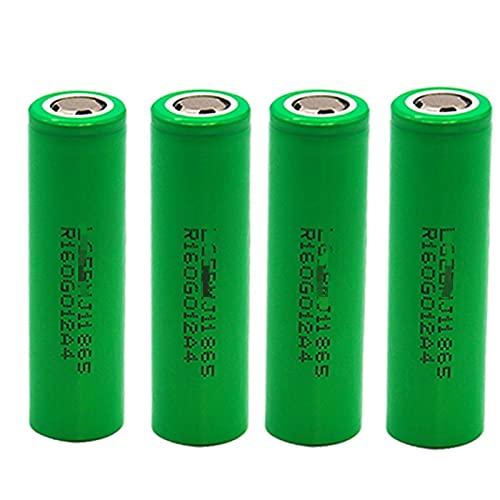 4pcs 18650 3.7v 3500mah Batería De Iones De Litio Recargable, para Linterna, Potencia MóVil, Gamepad, CáMara Walkie-Talkie