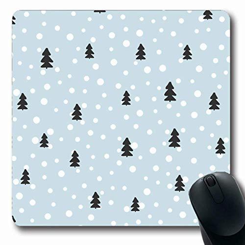 Mouse Pad Neue Vorlage Polka Jahr Winter Muster Weihnachtsbäume Für Dezember Texturen Punkte Feiertage Urlaub Mousepad Computer Längliche Gummischule 25X30Cm Laptop Rutschfeste Ma