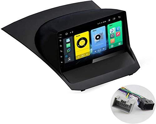 Android 10 MP5 Player GPS Navegación para Ford Fiesta 2009-2017, Soporte WiFi 5G DSP/FM RDS Radio de Coche Estéreo/BT Hands-Free Calls/Control del Volante/Carplay Android Auto