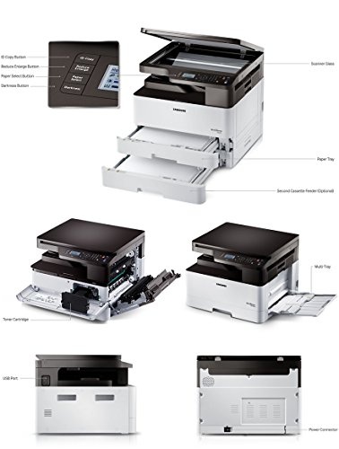 Samsung SL-K2200 Monochrome Multi Function Laser Printer
