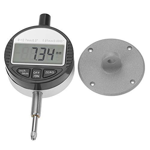 PBOHUZ Medidor de indicador de sonda, indicador de sonda Digital de Pantalla Grande, para medición de mecanizado, Cabezal de sonda de 0-12,7 mm