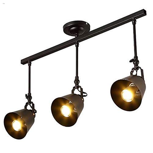 Vnlig Moderne Persönlichkeit Kronleuchter Schmiedeeisen Kronleuchter Scheinwerfer Cafe Restaurant Bar Gang Licht LED Lichtquelle (Design : C)