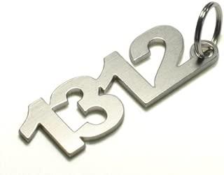 1312 ACAB Anti Cop - key chain fob keychain Stainless Steel - Shocker DUB | DUBWAY