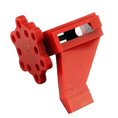 Dispositivo de bloqueo de disyuntor: bloqueo de válvula de bola ajustable, bloqueo de seguridad de aislamiento de válvula de tubería de agua del grifo de Prinzing
