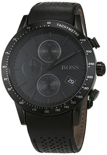 Hugo BOSS Reloj Análogo clásico para Hombre de Cuarzo con Correa en Cuero 1513456