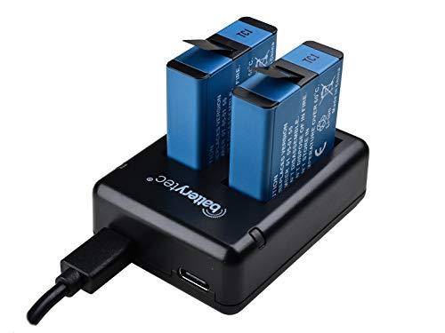 Batterytec Batería de Repuesto (2park) para GoPro Hero...