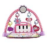 Fisher-Price Kick and Play Piano Gym Neugeborene Baby Spielmatte mit...