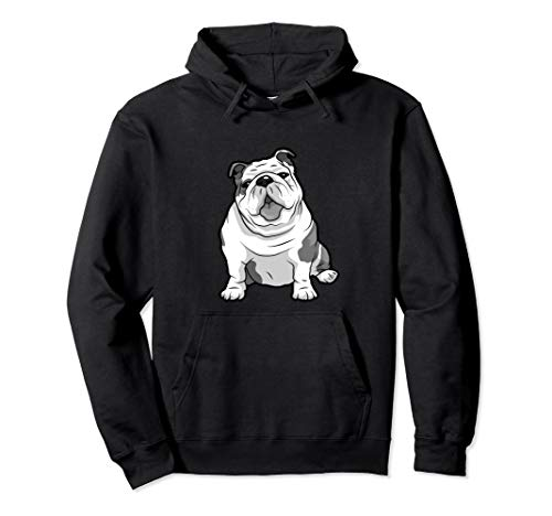 ENGLISH BULLDOGS Funny Pups and Bulldogs Pullover Hoodie