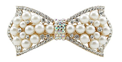 Belle épingle à cheveux artificielle de bijoux de Barrette de cheveux de Bowknot