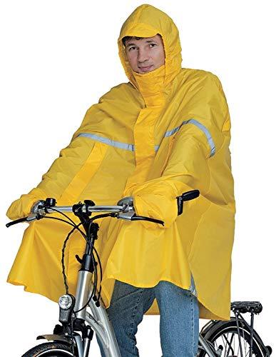 Hock Pioggia Abbigliamento Adulti Pioggia Poncho Super Perfekto, Unisex, Regenponcho Super Perfekto, Signalgelb, XL