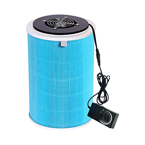 Best Bargain AKDSteel 110-220V DIY Air Puri-Fier HE-PA Filter for Dehaze Deodorize Second-Hand Smoke