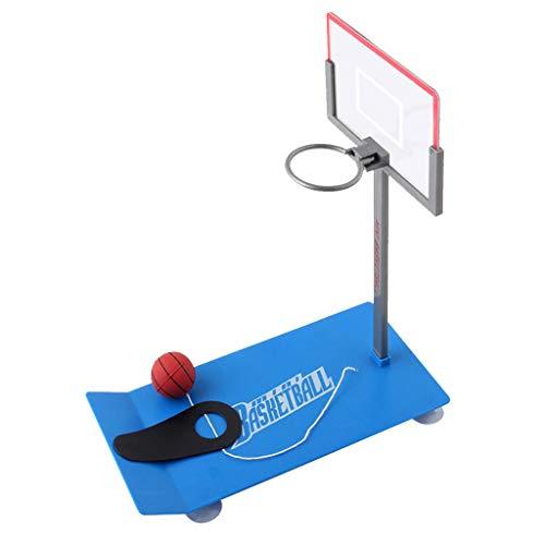 Desktop Basketball Spielzeug, Tischbasketball Fingerbasketball im Büro Basketball Geschicklichkeitsspiel Zusammenklappbarer Tischkorb