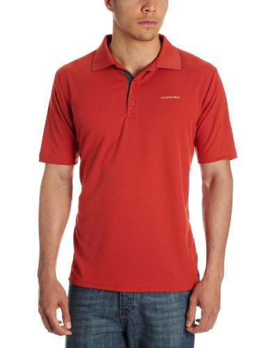 Craghoppers Polo Homme Flame rouge M