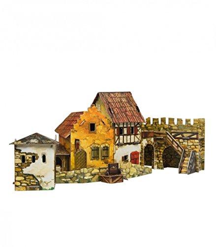 CLEVER PAPER- Puzzles 3D Mercado (14375)